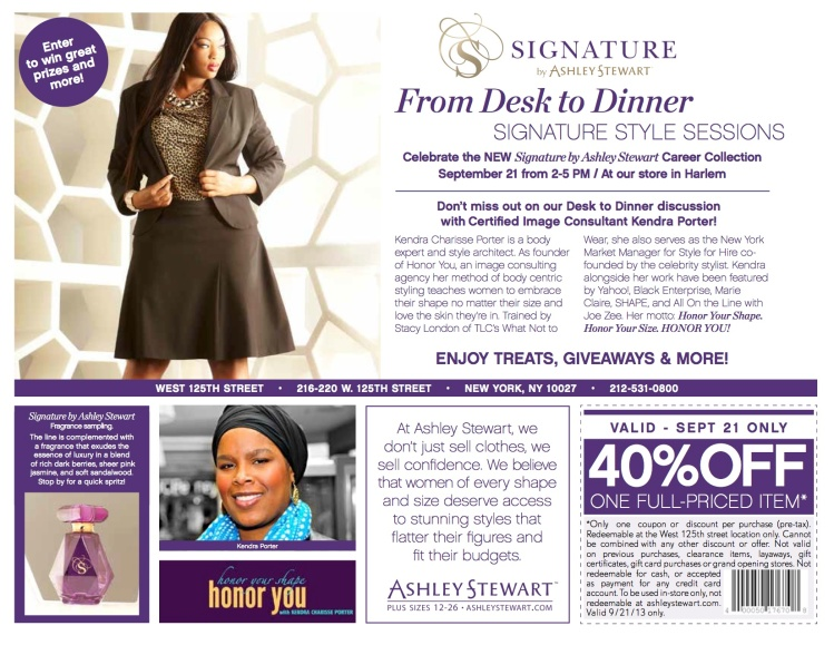 Ashley Stewart Event